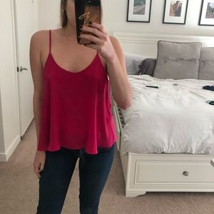 💕 Olivaceous Hot Pink Top
